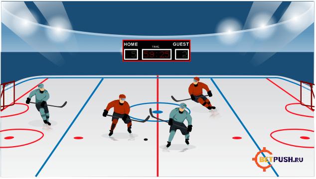 на хоккей методика ставки
